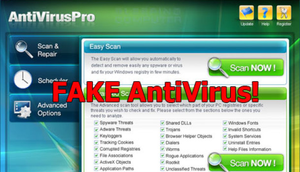 Falso Software Anti-Virus: O que é isso?