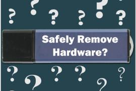 Seguro & Fácil remoção de dispositivos a partir de seu PC
