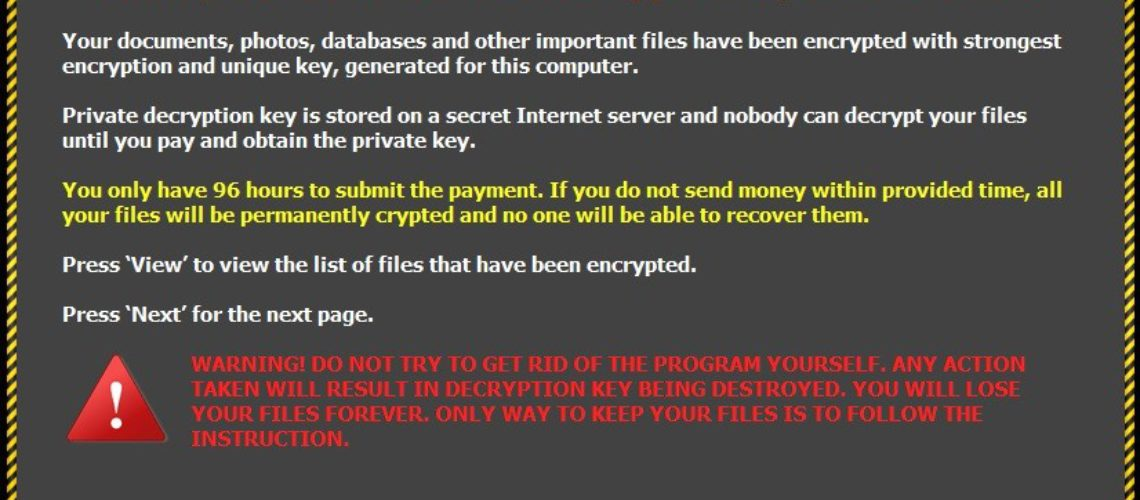 Fil-Kryptering Malware Tricks Brugere maskeret som Google Chrome opdatering