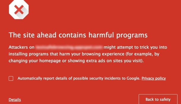 Google Chrome beter tegen kwaadaardige downloads Protected