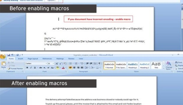 Malicious Macro for Microsoft Word Downloads Vawtrak Trojan