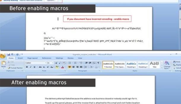 Malicious Macro for Microsoft Word Downloads Vawtrak Trojan