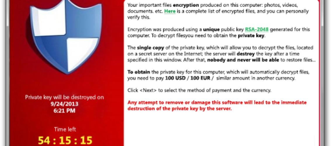 CryptoLocker Ransomware Targets australske bedrifter