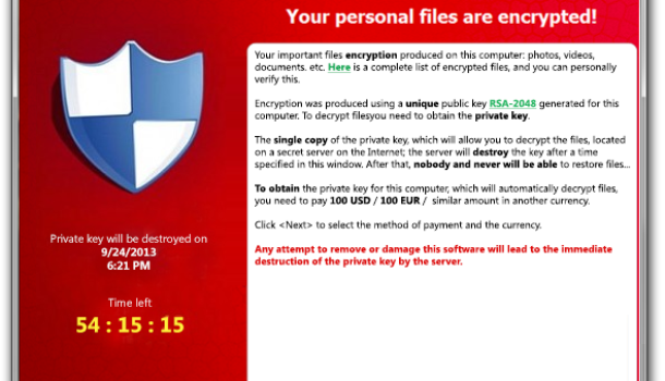 CryptoLocker Ransomware Targets Australian Businesses