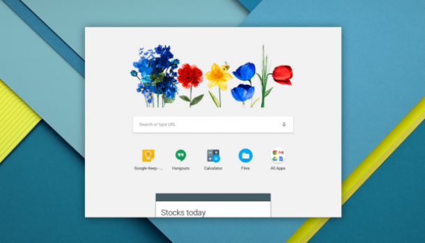 Chrome App Launcher 2.0 con costruito nel Google Now