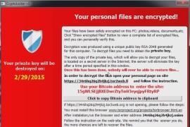 CryptoLocker-v3 Ransomware Hits Europe and USA