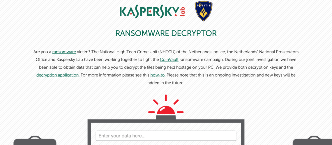 CoinVault Ransomware's Victims Can Now Restore the Encrypted Data for Free