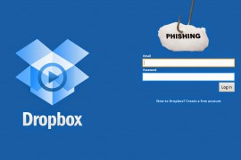 Nieuwe Phishing Scam betrekking op de Dropbox Application