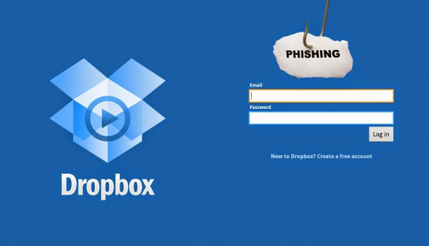 New Phishing Scam Involves the Dropbox Application