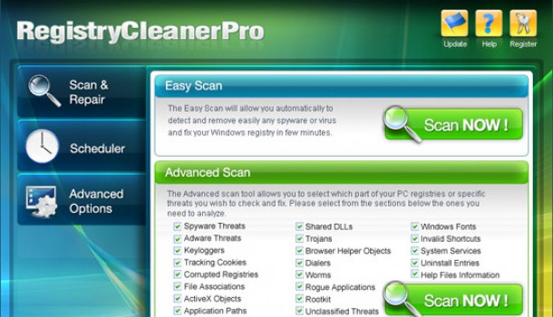 How to Remove Registry Cleaner Pro?