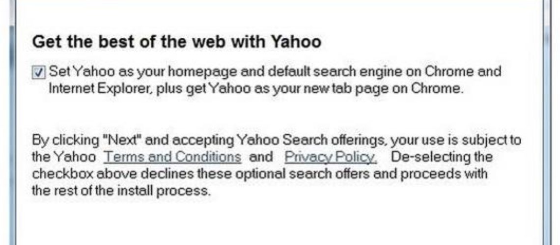 Yahoo Replaces Ask in Java Updater