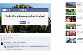 Neuer Facebook Scam – Alton Towers Roller Coaster Absturz