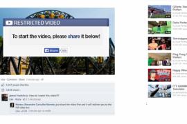 New Facebook Scam – Alton Towers Roller Coaster Crash