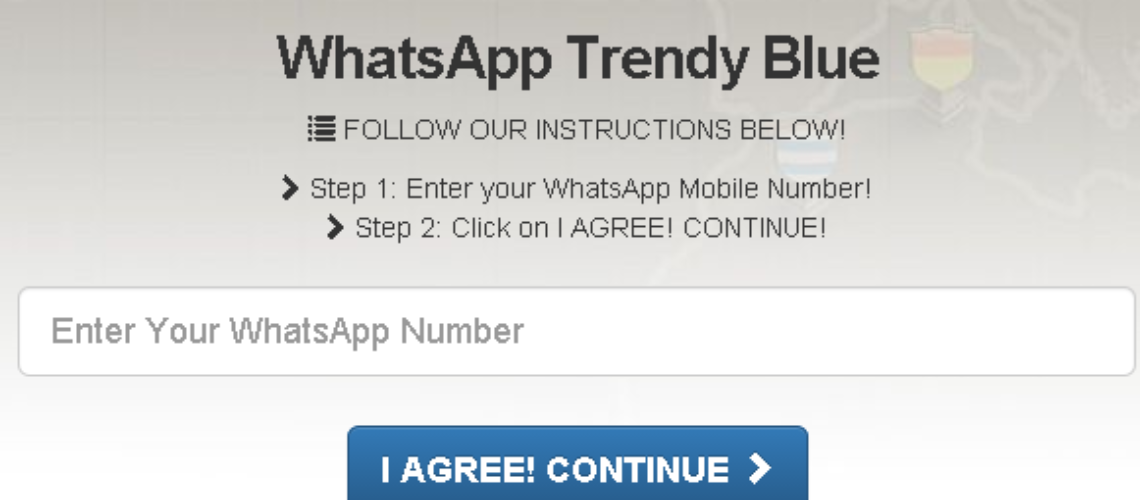 WhatsApp Trendy Blue Is a Sham