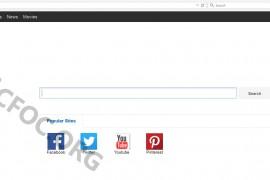 Remove Bing.vc Redirect
