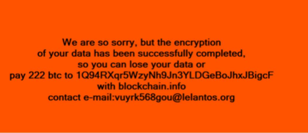KillDisk-ransomware-BSS-billede